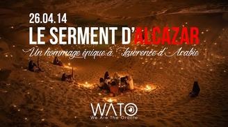 Le Sermet D'Alcazar, Wato et casting.fr vous invitent ce samedi 26 avril