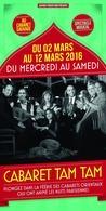 Un superbe spectacle au Cabaret Sauvage à ne louper pour rien au monde : Cabaret Tam Tam