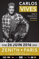 Carlos Vives en concert exceptionnel à Paris, Casting.fr vous y invite...