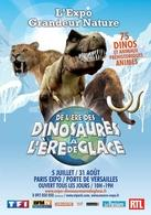 De l'ère des Dinosaures à l'ère de Glace ! Une expo qui vous en apprendra davantage sur votre passé