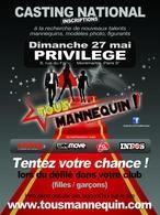"""Participez à la selection de """"Tous mannequins"""" à Paris !"""