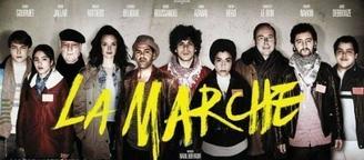 """Le film """"La Marche"""" avec Jamel Debbouze, un film poignant et émouvant."""