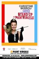 Christine Berrou artiste touche à tout, fait son Stand Up au Point Virgule !