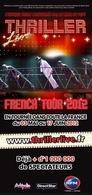 Le spectacle Thriller Live en tournée dans toute la France !