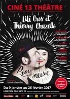 Lili Cros et Thierry Chazelle font « Peau Neuve » dans leur nouveau spectacle