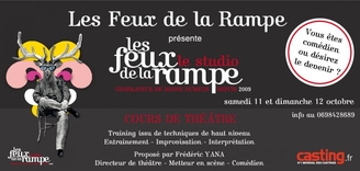 Le Studio des Feux de la Rampe reprend les cours d'impro en Partenariat avec Casting.fr