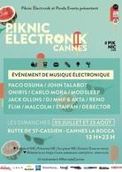 C'est l'heure de l'été, du sud, de la danse! Casting.fr vous invite au Piknic électronic à Cannes