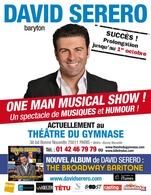 "Le baryton international David Serero donne son ""One Man Musical Show"" au Théâtre du Petit Gymnase"
