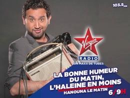 Cyril Hanouna sera sur Virgin Radio pour une deuxième saison aux commandes de la matinale !