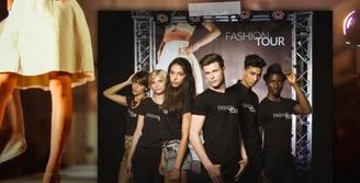 """Fashion Tour"", la finale du grand concours nationale de mannequins au Pavillon Wagram"