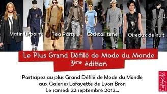 Devenez Mannequin d'un jour pour le plus Grand Défilé Mode du Monde !