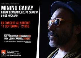 "Le percussionniste argentin Minino Garay présente ""Vamos"" Quartet au Sunset Sunside"