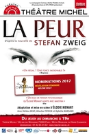 """""""La Peur"""", l'adaptation de la nouvelle de Stefan Zweig est actuellement au Théâtre Michel, gagnez vos places !"""