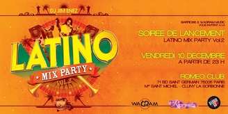 "DJ Jim Enez ""Latino Mix Party Volume 2"""