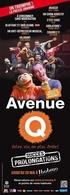 """Le spectacle """"Avenue Q"""" joue les prolongations à Bobino !"""