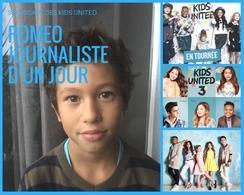 Roméo, journaliste d'un jour du haut de ses 9 ans a assisté au showcase très privé des KIDS UNITED, il vous raconte!