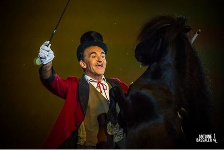 Piéric, un dresseur épris de ses chevaux et sa vie d'artiste