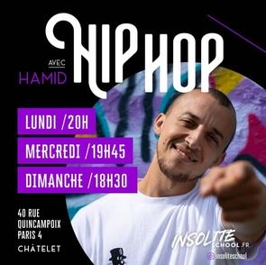 Hamid, professeur de danse hip-hop et directeur de l'école Insolite School, vous donne les clefs de la réussite!