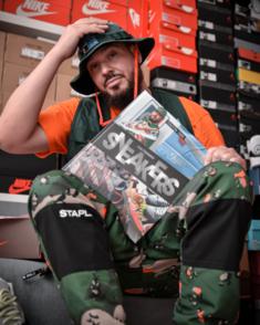 Tonton Gibs l'indétrônable roi de la sneakers nous fait le privilège de répondre à nos questions !