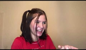 Crazy girl, self recording acting clip