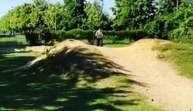 Parcours terrain de cross