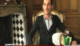 Interview TV du Modèle officiel  de la marque les Glaces Dagniaux Ruiz