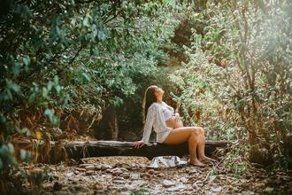 Casting mannequin femme enceinte pour shooting photo