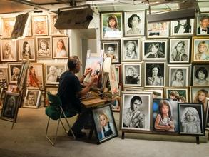 Casting homme artiste peintre entre 20 et 65 ans pour jouer dans téléfilm