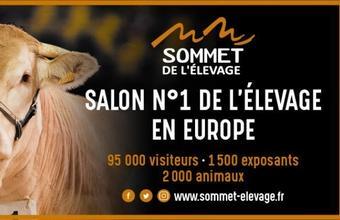 Cherche hôtesses d'accueil salon Sommet de l'Elevage 2019 à Cournon d'Auvergne 63800