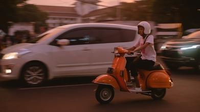 Casting figurant ayant un scooter pour jouer dans long métrage
