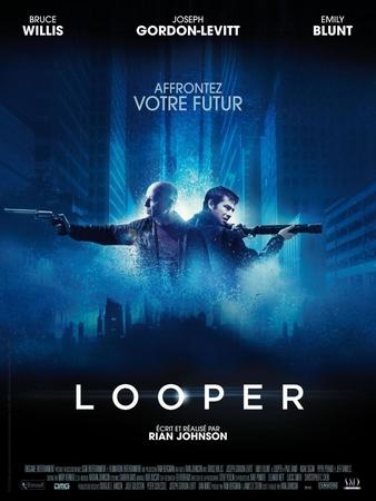 LOOPER, un film explosif et intemporel où le présent se mêle au futur !