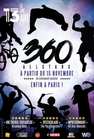 360 ALL STARS débarque à Paris pour un show inédit !