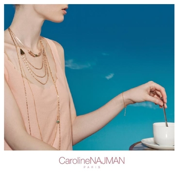 "Caroline Najman LA marque de préstige ! Le bijou ""branché"" !"