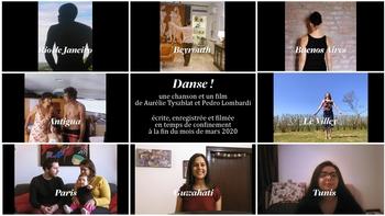 """"""" Danse"""" une invitation au partage à travers le monde avec Aurélie Tyszblat et Pedro Lombardi"""
