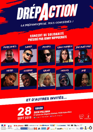 Casting.fr solidaire avec le concert Drépaction contre la drépanocytose