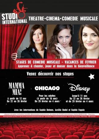 Remporter un stage Mamma Mia et Chicago en nous envoyant seulement une vidéo !