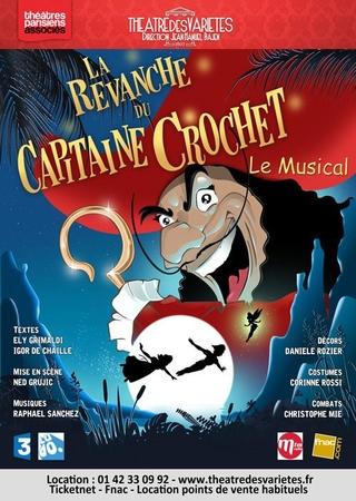 La revanche du capitaine crochet au Théâtre des variétés, un spectacle pour enfants à voir absolument