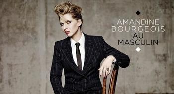 """""""Au Masculin"""" un album feuilletant les émotions d' Amandine Bourgeois"""