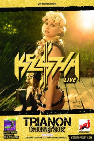 Gagnez vos places pour le concert de KE$HA au Trianon le 16 Juillet 2013 !