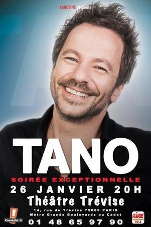 """Assistez à une soirée exceptionnelle avec """"TANO"""""""