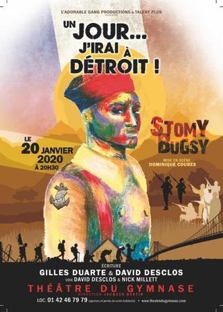 """Attention ÉVÉNEMENT, on vous invite à la Première de la pièce """"Un jour… j'irai à Détroit"""", de Stomy Bugsy et David Desclos."""