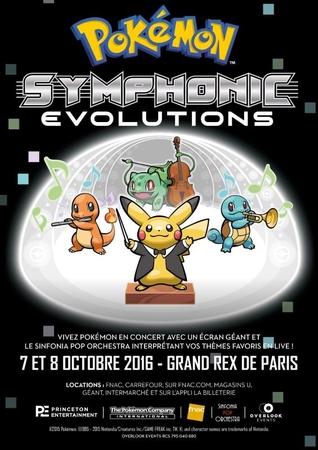 Attrapez les tous à la Pokemon Symphonic Evolution lors de 2 soirées exceptionnelles au Grand Rex