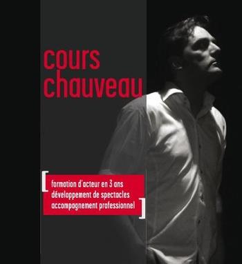 Audition d'inscription aux Cours Chauveau - formation d'acteur.