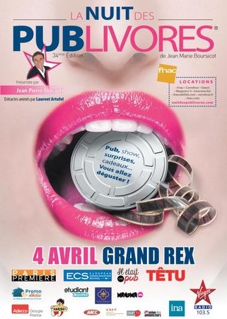 La nuit des publivores, l'évènement mondial de la publicité présenté par Jean-Pierre Foucault !