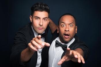 """Découvrez """"Imagine"""" le nouveau spectacle du duo humoristique Vice Versa au théâtre Gaité Montparnasse avec notre jeu concours !"""