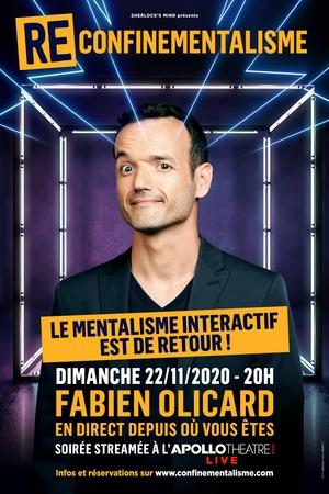 Reconfinementialisme, c'est le tout nouveau show digital du youtubeur mentaliste Fabien Olicard !
