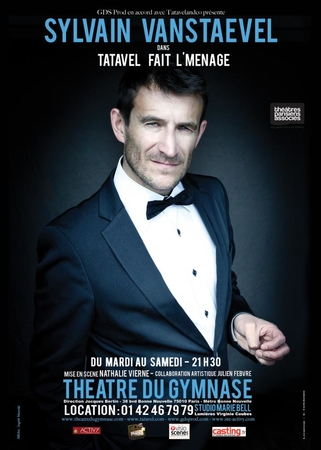 Casting.fr partenaire du nouveau one-man-show de Sylvain Vanstaevel alias TATAVEL !