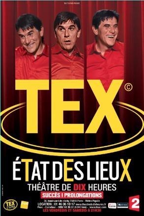 Tex dans État des lieux, un show grandiose à mourir de rire !