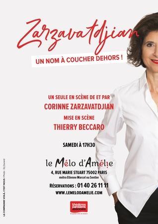 Corinne Zarzavadjian, une comédienne pas comme les autres