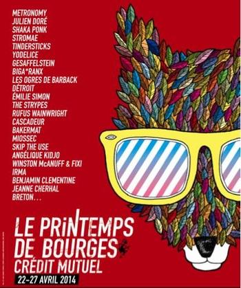 Le Printemps de Bourges, la 38ème édition qui s'annonce plus grande que jamais !